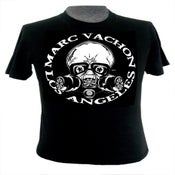 Image of Marc Vachon Mr. Bones Gas Mask Mens T