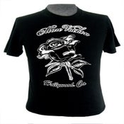 Image of Marc Vachon Black Rose Mens T.
