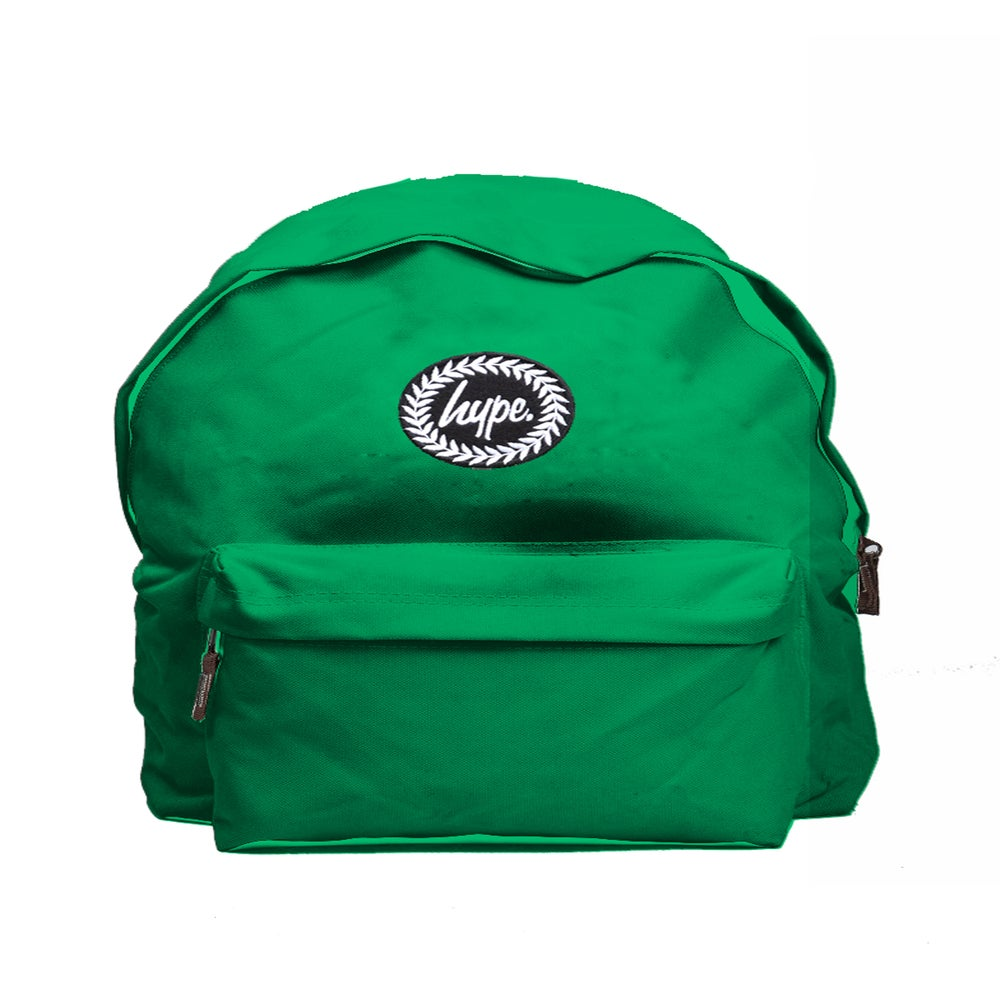 Image of HYPE. EMERALD GREEN BACKPACK