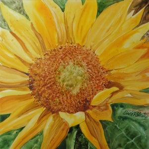 "Image of ""Sunflower"" original watercolor"