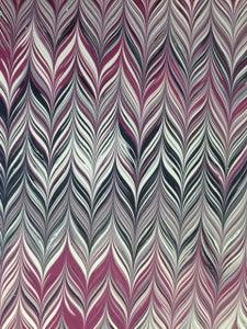 Image of Pattern #58 small maroon chevron design