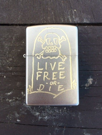 Image of Byline Supply Hand Engraved Zippo Lighters