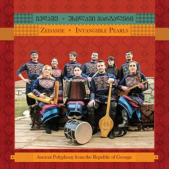 """Image of Zedashe """"Intangible Pearls"""" CD (Ancient Polyphonic Songs from Republic of Georgia)"""