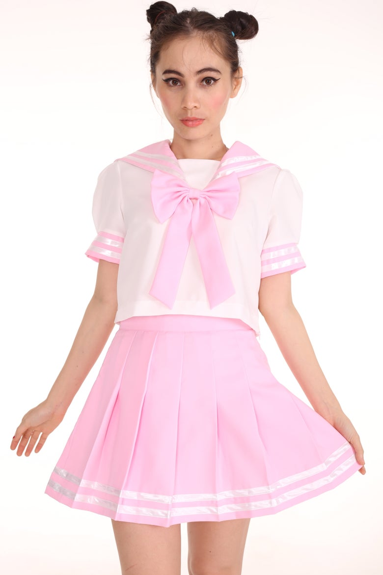 Image of 2 weeks waiting - Sailor Moon Inspired 2 Piece Set in Pink
