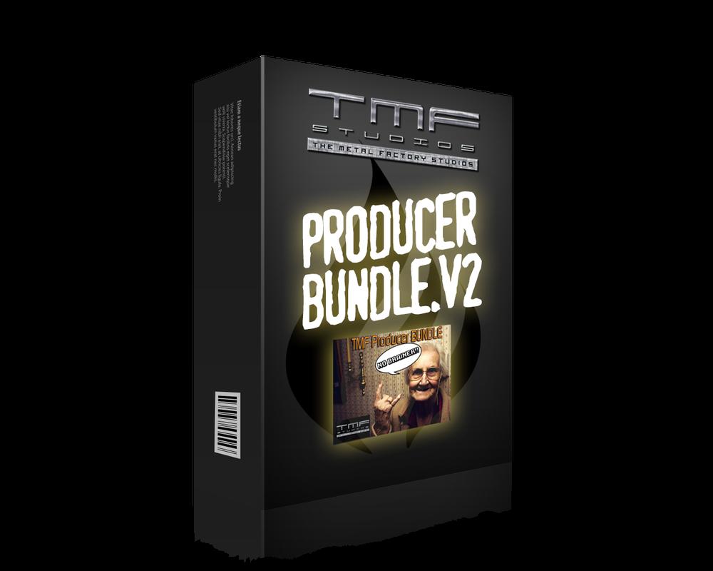 Image of TMF Producer Bundle V2[All Drums + Kontakt + Pod Farm + All Cabs + Master Cymbal Pack]