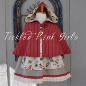 Image of Little Red Dress and Cape SET