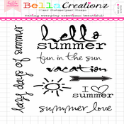 Image of SALE - Hello Summer Clear Stamp Set