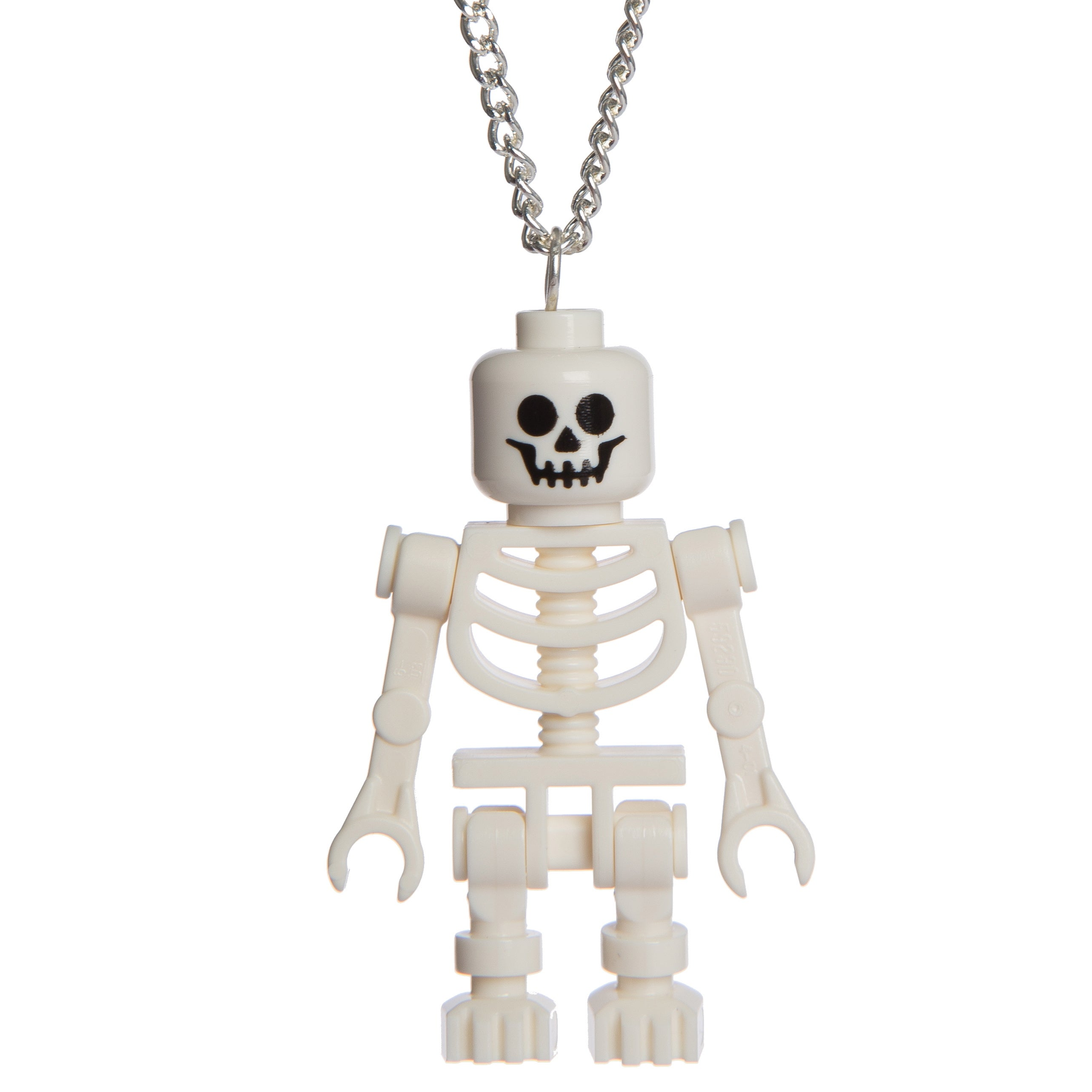 jelly button jewellery lego skeleton necklace