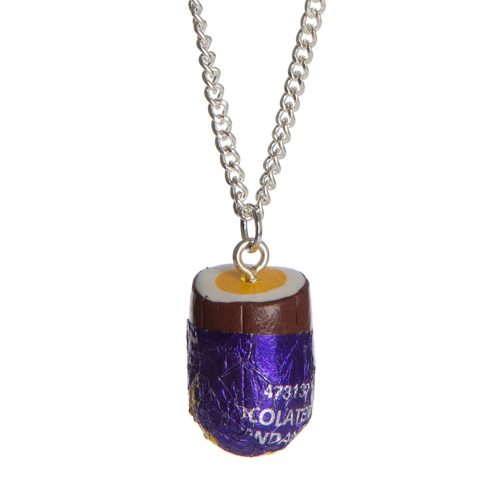 Image of Creme Egg Necklace