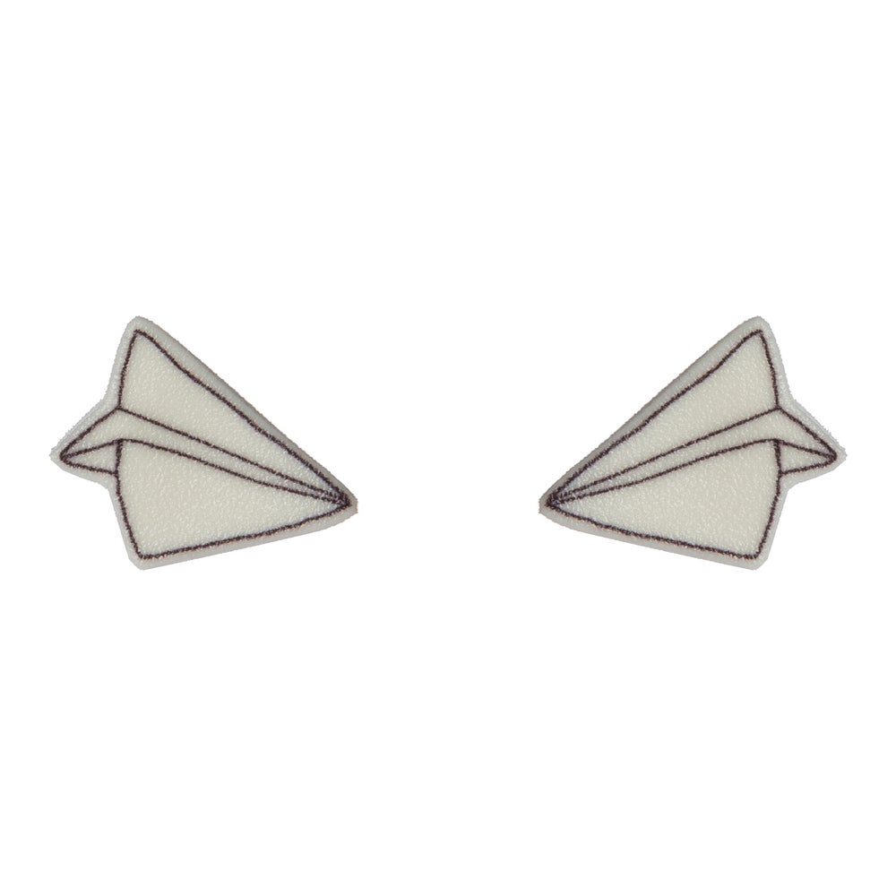 Image of Paper Plane Earrings