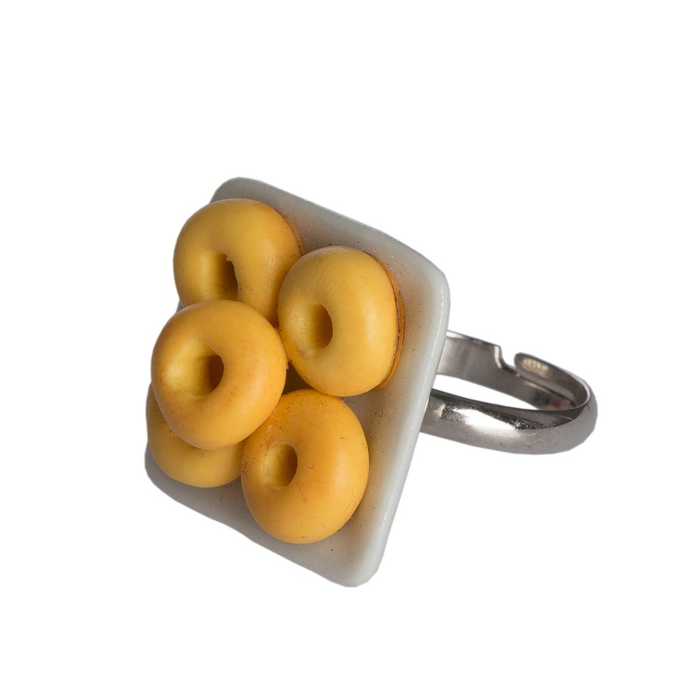Image of Glazed Donut Ring