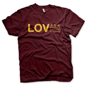 Image of Love DC - Burgundy & Gold - #LoveCitees (Unisex)