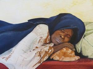 """Image of """"Respite"""" original watercolor"""