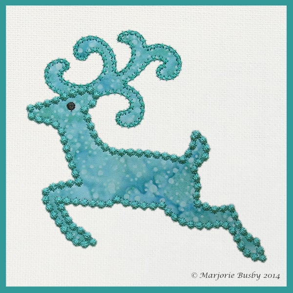 Image of Reindeer with Antlers