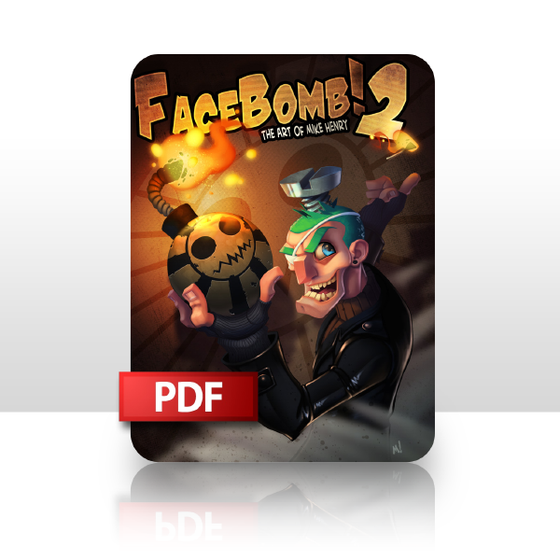 Image of FaceBomb 2: The Art of Mike Henry PDF