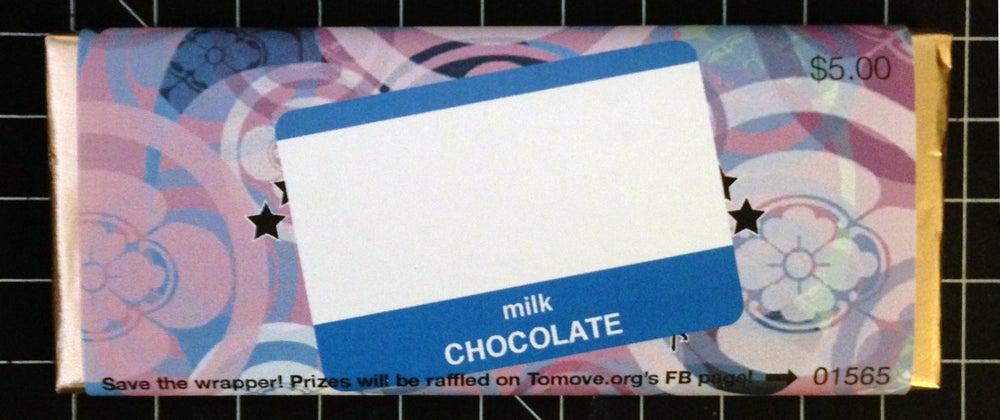Image of New Tomo Chocolate Bars!