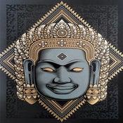 Image of BAYON BUDDHA | Serigraph Print