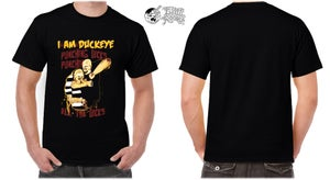 "Image of I am Duckeye ""Punching Dicks"" Tshirt Limited Edition"