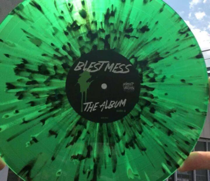 Image of Blest Mess - The Album - Vinyl LP (Street Urchin Records 002)
