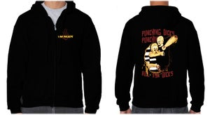 """Image of I am Duckeye """"Punching Dicks"""" Hoodie Limited Edition"""