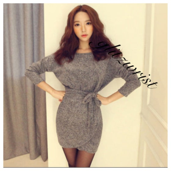Image of WRAP DRESS