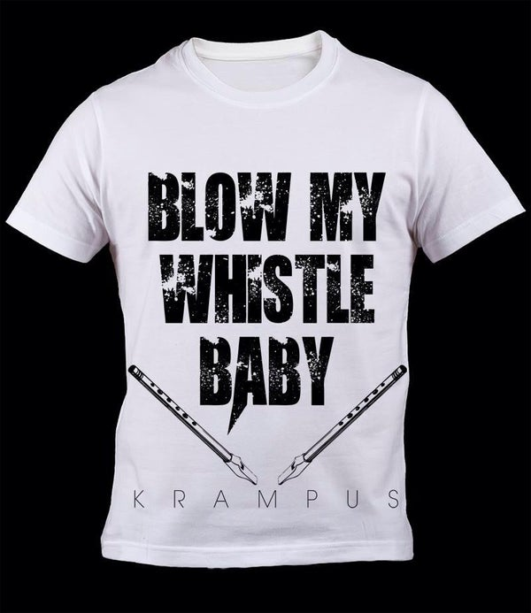 Image of Krampus - Blow my whistle - Male t-shirt