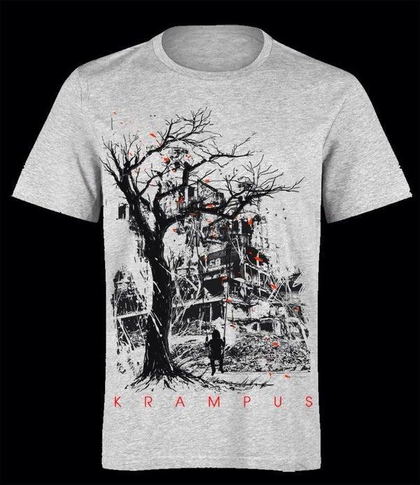 Image of Krampus - Aftermath - Male shirt White