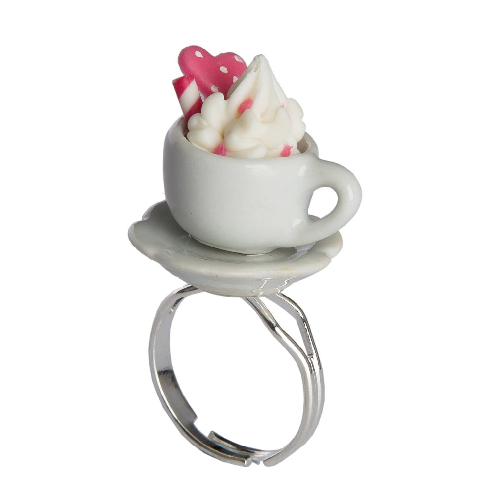 Image of Hot Chocolate and Cream Ring