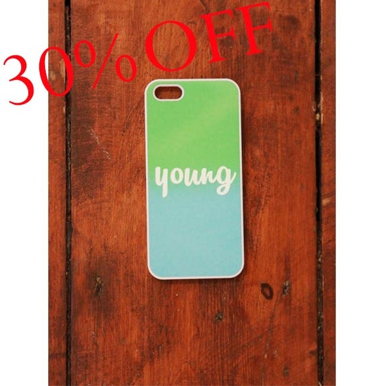 Image of MD Phonecover iPhone 5 Green/Blue