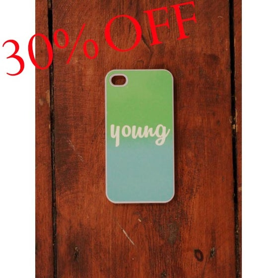 Image of MD Phonecase iPhone 4 Green/Blue