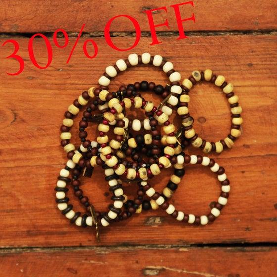 Image of MD Wooden Bracelet