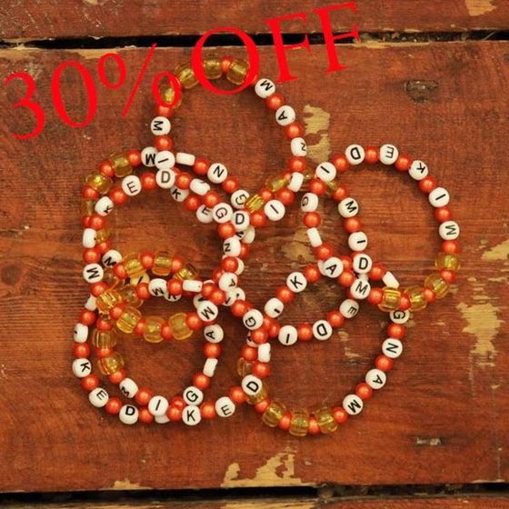 Image of MD Orange Bracelet