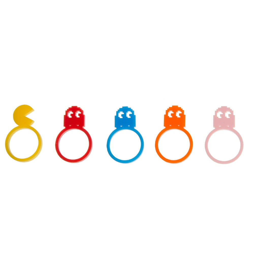 Image of PacMan Ring Set