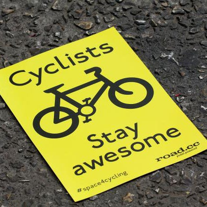 Image of Stay Awesome sticker