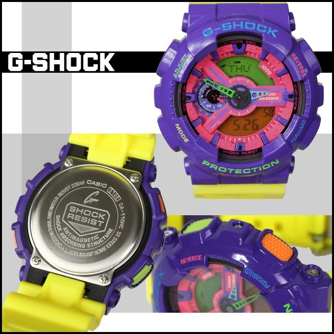 "Image of GA-110HC-6 ""Hyper Color"" G-Shock"