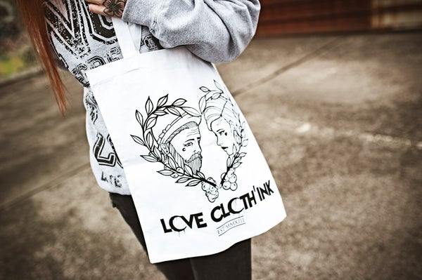 Image of LOVE CLOTH'INK BAGS