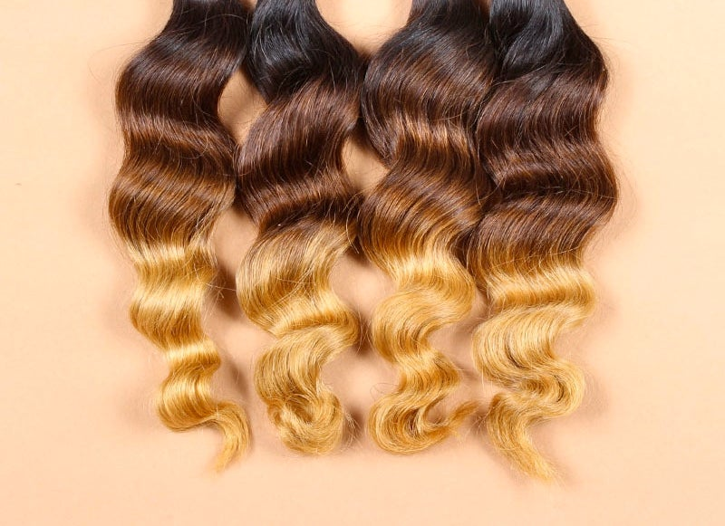 Image of Ombre Brazilian Loose Wave Bundles