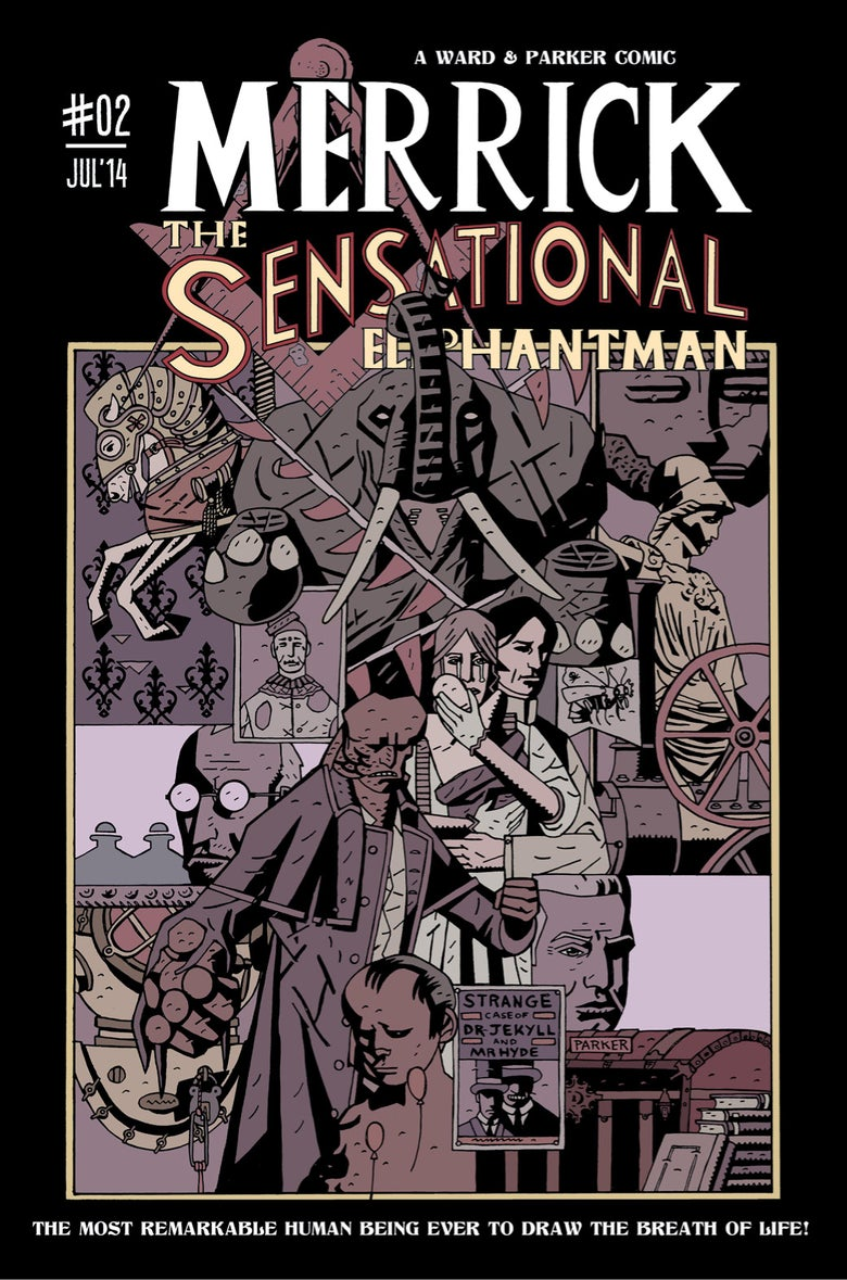 Image of Merrick: The Sensational Elephantman #02 (PHYSICAL)