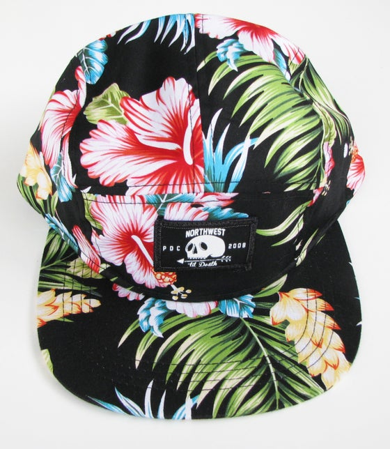 "Image of ""Hawaiian Floral"" 5-Panel Hat"