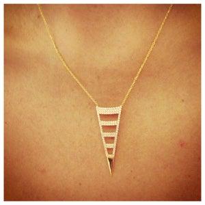 Image of Split Dagger Necklace