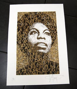 Image of NINA SIMONE - GOLD  edition of 12