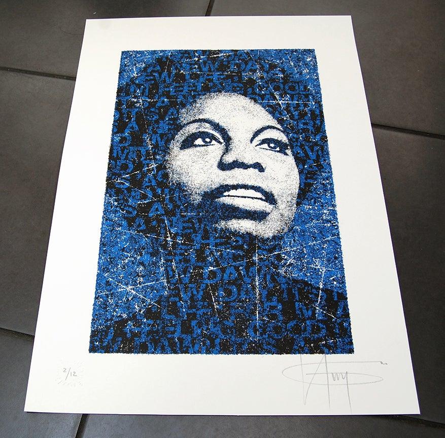Image of NINA SIMONE - BLUE