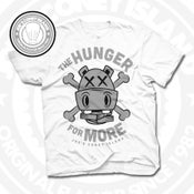 Image of Hunger for More White (Sports Grey) Tee