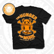 Image of Hunger for More Black (Orange) Tee