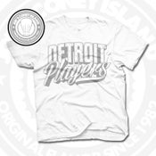 Image of Detroit Players White (Sports Grey) Tee