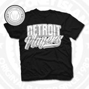 Image of Detroit Players Black (Sports Grey/Wht) Tee