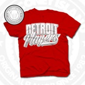 Image of Detroit Players Red (Sports Grey/Wht) Tee