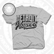 Image of Detroit Players Grey (Black) Tee