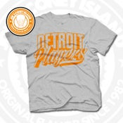 Image of Detroit Players Grey (Orange) Tee