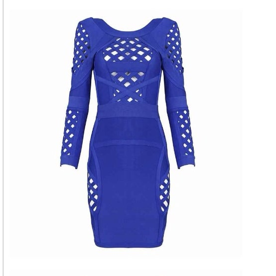 Image of Royalty Cut Out Bandage Dress